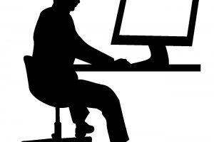 内勤の男性