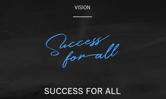 SUCCESS FOR ALL_企業理念