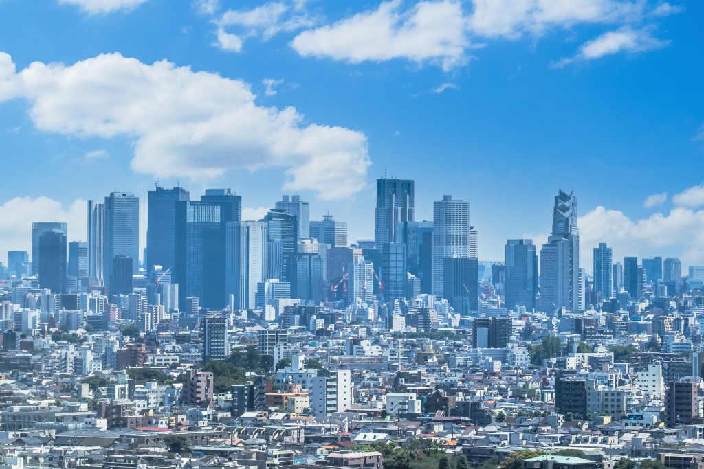 スカイ株式会社がある東京